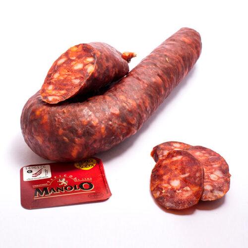 Chorizo Extra de León - Quesos Crego - Cevico la Torre - Palencia