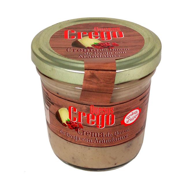 Cremas de Queso con Arándanos - Quesos Crego - Cevico la Torre - Palencia