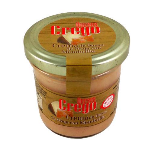 Cremas de Queso con Membrillo - Quesos Crego - Cevico la Torre - Palencia