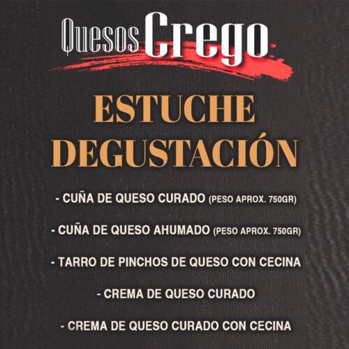 Estuche Degustación - Quesos Crego - Cevico la Torre - Palencia