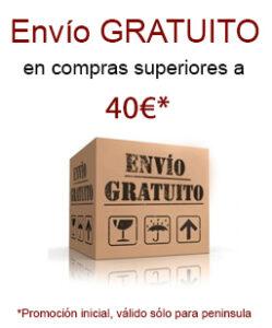Envío gratuito mas de 40 euros